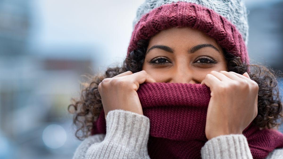 skin during winter